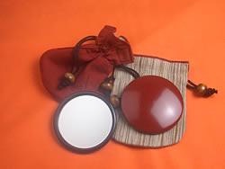 漆塗ミニ手鏡